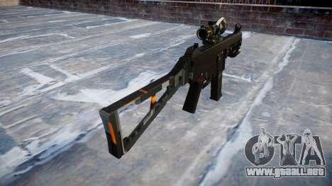 Pistola de UMP45 CE Digital para GTA 4 segundos de pantalla