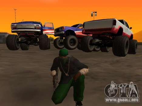 Nuevas texturas de las ruedas de Monster para GTA San Andreas left