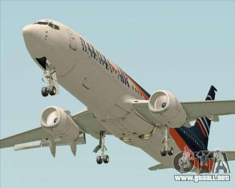 Boeing 737-800 Batavia Air (New Livery) para GTA San Andreas left