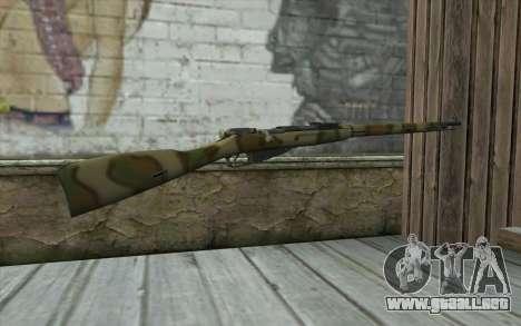Mosin-v4 para GTA San Andreas segunda pantalla