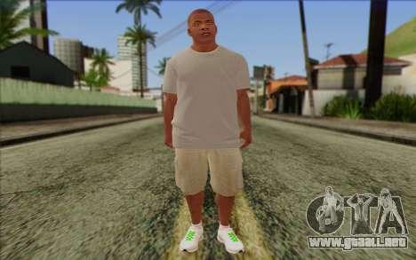 Franklin from GTA 5 para GTA San Andreas