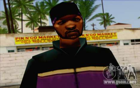 Hood from GTA Vice City Skin 1 para GTA San Andreas tercera pantalla