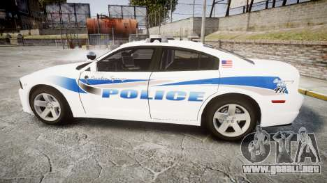 Dodge Charger RT 2013 PS Police [ELS] para GTA 4 left