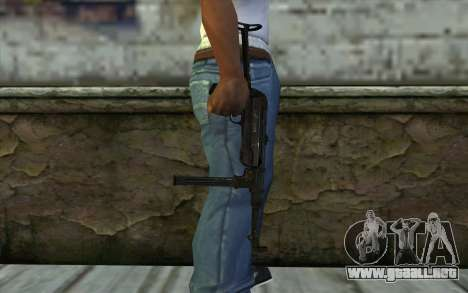 MP40 para GTA San Andreas tercera pantalla