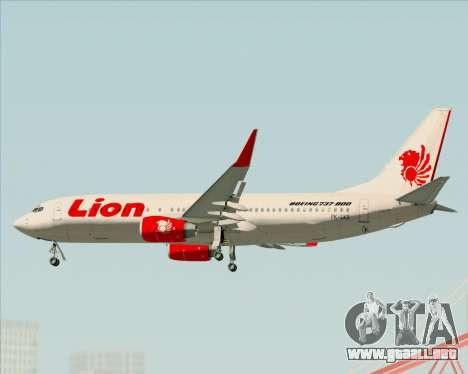 Boeing 737-800 Lion Air para el motor de GTA San Andreas