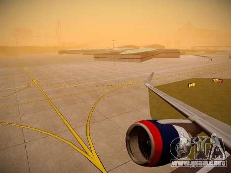 Boeing 757-232 Delta Airlines para las ruedas de GTA San Andreas