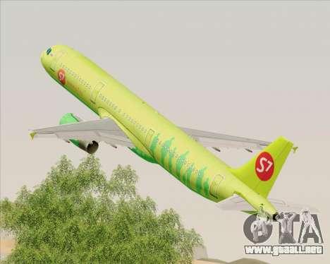 Airbus A321-200 S7 - Siberia Airlines para GTA San Andreas