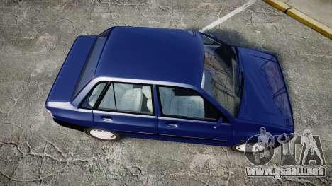 Kia Pride 132 SE para GTA 4 visión correcta