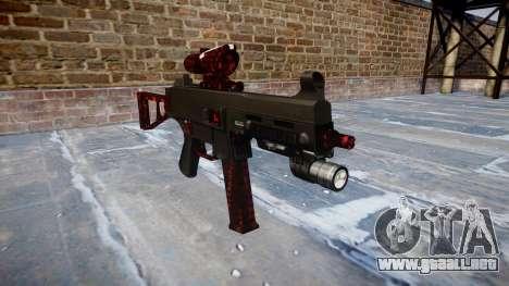 Pistola de UMP45 Arte de la Guerra para GTA 4