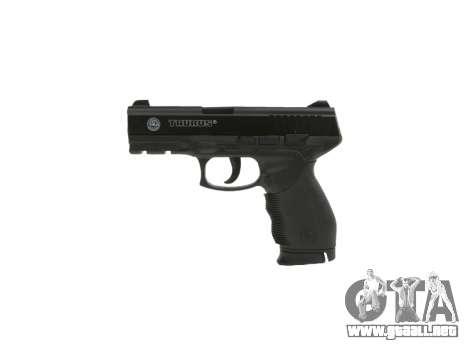 Pistola Taurus 24-7 negro icon2 para GTA 4 tercera pantalla