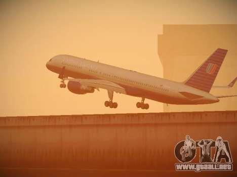 Boeing 757-224 United Airlines para las ruedas de GTA San Andreas