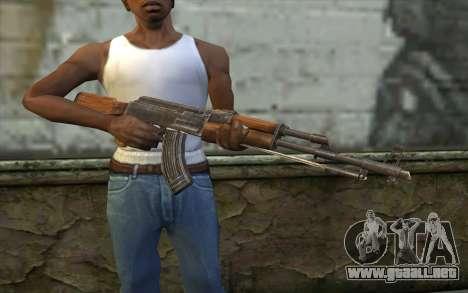 Тип 56 (АКМ) de Battlefield: Vietnam para GTA San Andreas tercera pantalla