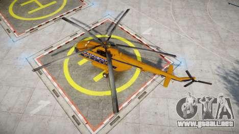 Mi-8 para GTA 4 visión correcta