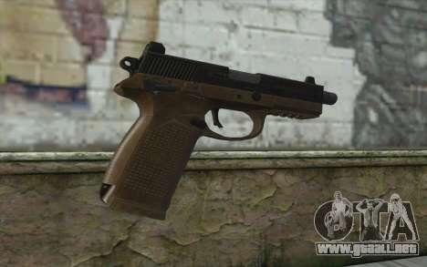 FN FNP-45 Sin Silenciador para GTA San Andreas segunda pantalla