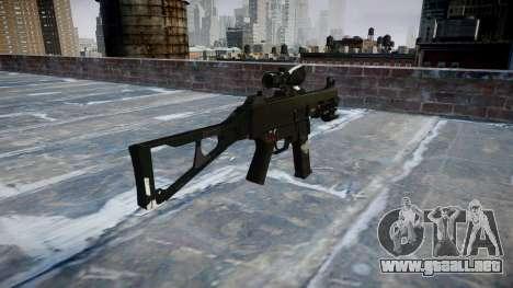 Pistola de UMP45 Fantasmas para GTA 4 segundos de pantalla