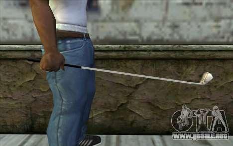 Golf Club from Beta Version para GTA San Andreas tercera pantalla
