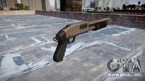 Riot escopeta Mossberg 500 icon1 para GTA 4 segundos de pantalla