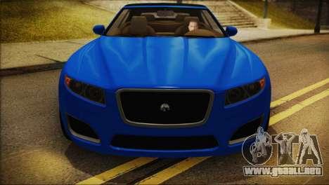 Lampadati Felon GT (IVF) para GTA San Andreas vista posterior izquierda