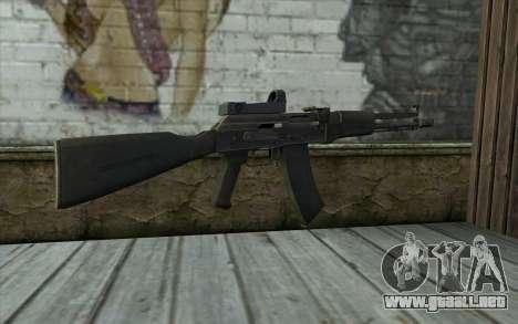 AK-107 para GTA San Andreas segunda pantalla