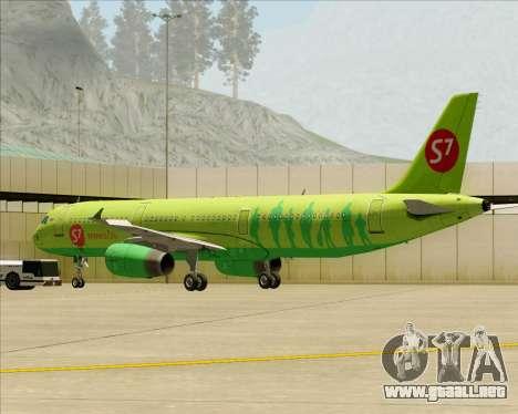 Airbus A321-200 S7 - Siberia Airlines para el motor de GTA San Andreas