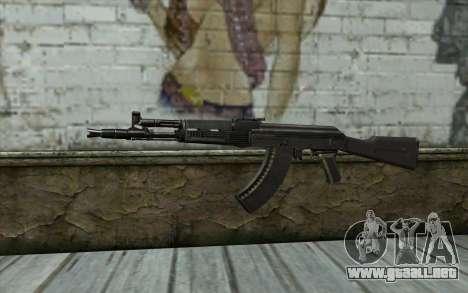 El AK-104 para GTA San Andreas