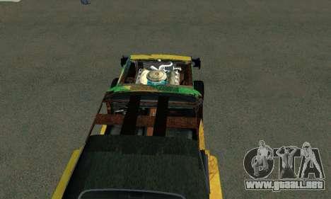 Dodge Charger HL2 EP2 para GTA San Andreas vista posterior izquierda