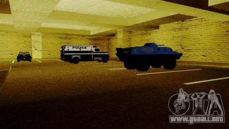 Vehículos nuevos en LSPD para GTA San Andreas quinta pantalla