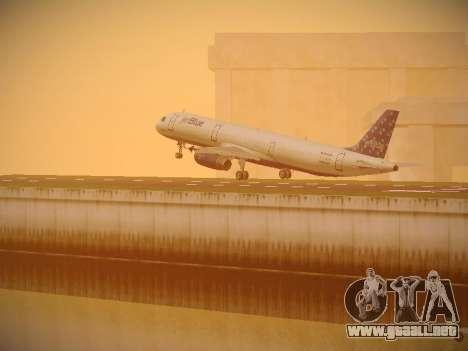 Airbus A321-232 Lets talk about Blue para las ruedas de GTA San Andreas