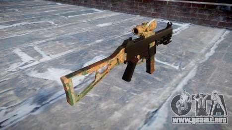 Gun UMP45 Jungle para GTA 4 segundos de pantalla