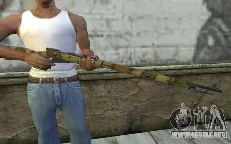 Mosin-v4 para GTA San Andreas tercera pantalla
