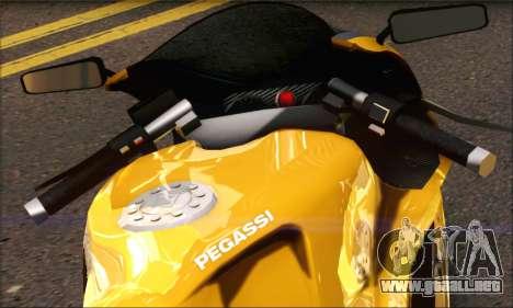 GTA 5 Pegassi Bati 801 para GTA San Andreas vista posterior izquierda