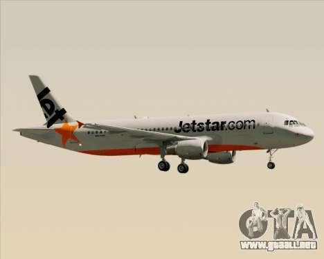 Airbus A320-200 Jetstar Airways para el motor de GTA San Andreas