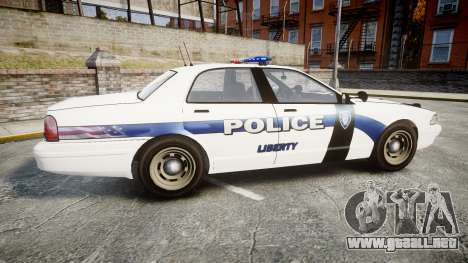 GTA V Vapid Cruiser LP [ELS] para GTA 4 left