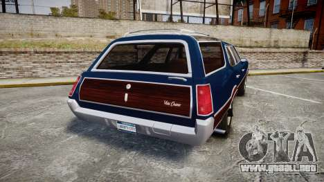 Oldsmobile Vista Cruiser 1972 Rims2 Tree4 para GTA 4 Vista posterior izquierda