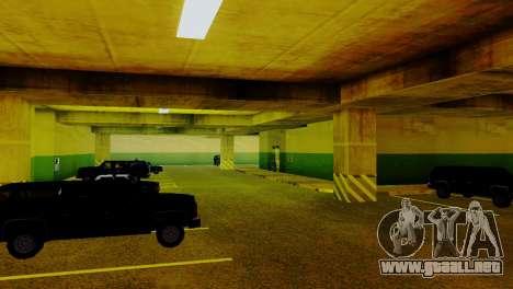 Vehículos nuevos en el LVPD para GTA San Andreas octavo de pantalla