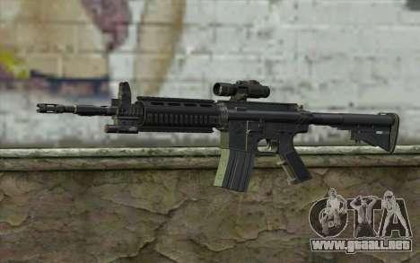 M4 Stuffed para GTA San Andreas