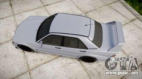 Mercedes-Benz 190E Evolution II para GTA 4 visión correcta