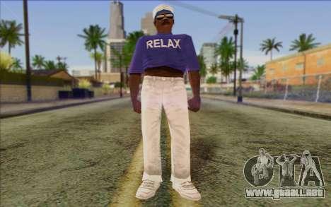 Haitian from GTA Vice City Skin 1 para GTA San Andreas