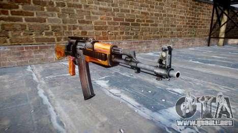 Kalashnikov modernizado (AKM) para GTA 4