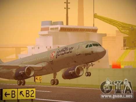 Airbus A321-232 jetBlue Boston Red Sox para GTA San Andreas left