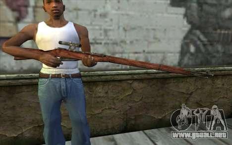 Mosin (Battlefield: Vietnam) para GTA San Andreas tercera pantalla