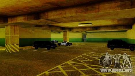 Vehículos nuevos en el LVPD para GTA San Andreas quinta pantalla