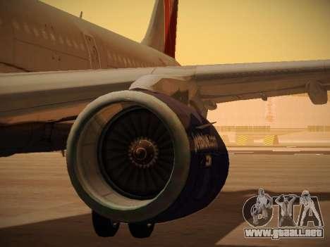 Airbus A321-232 jetBlue Boston Red Sox para las ruedas de GTA San Andreas