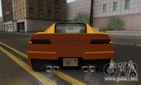 GTA 5 Invetero Coquette (IVF) para la visión correcta GTA San Andreas