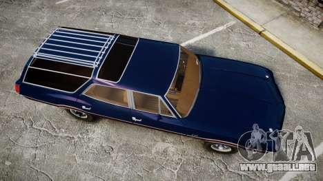 Oldsmobile Vista Cruiser 1972 Rims2 Tree4 para GTA 4 visión correcta
