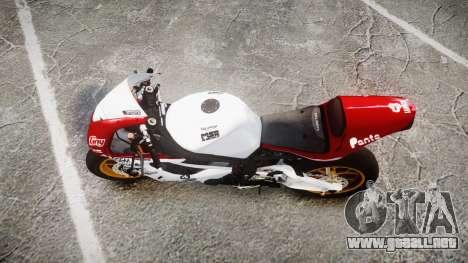 Daytona 675R 2011 para GTA 4 visión correcta