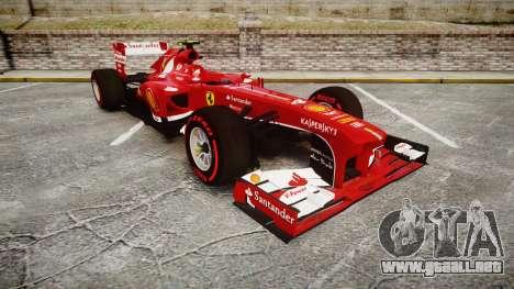 Ferrari F138 v2.0 [RIV] Massa TSSD para GTA 4