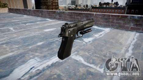 Gun Jericho 941 para GTA 4 segundos de pantalla