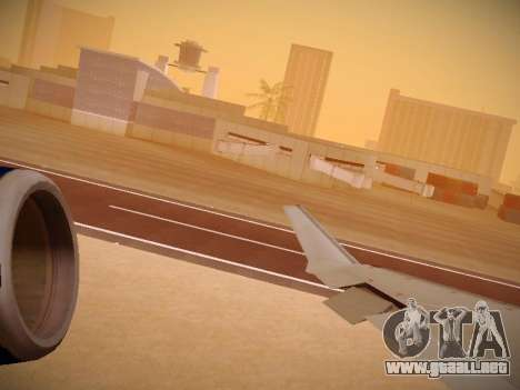 Bombardier CRJ-700 United Express para el motor de GTA San Andreas