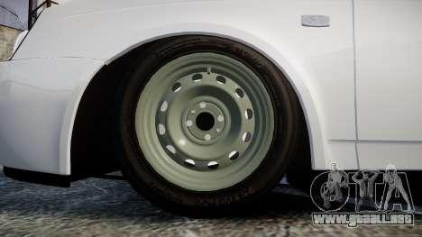 VAZ-Lada Priora 2170 para GTA 4 vista hacia atrás